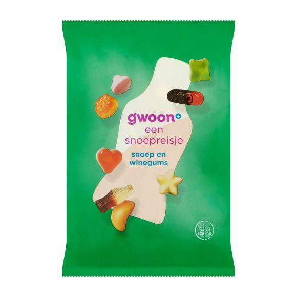 g'woon snoep en winegums product photo