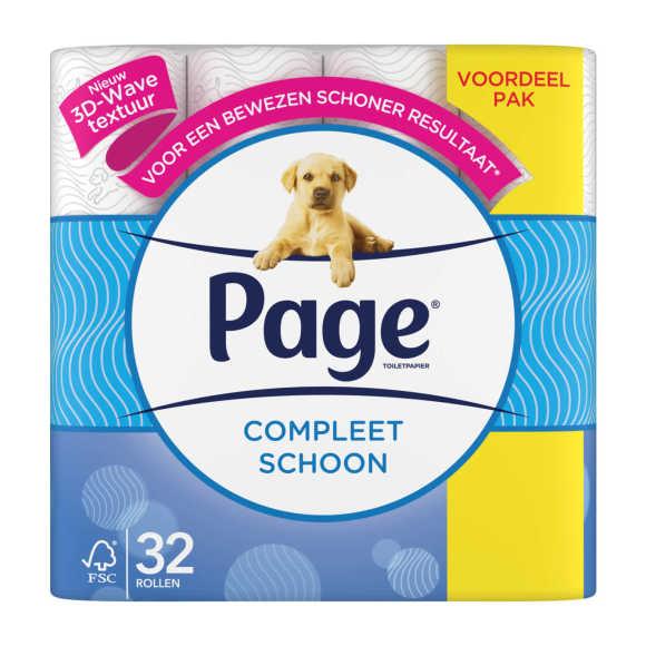 Page Toiletpapier origineel schoon product photo