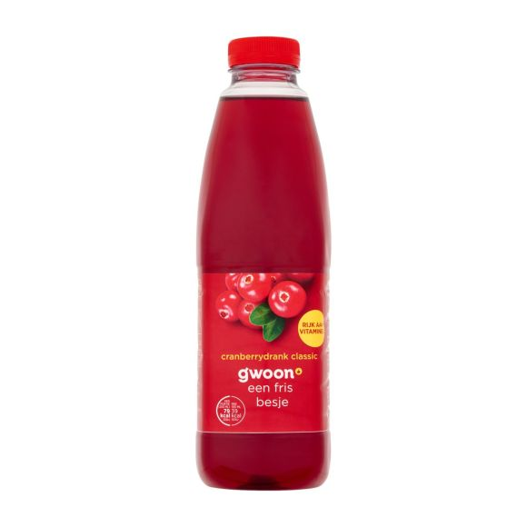 g'woon Cranberrysap classic product photo
