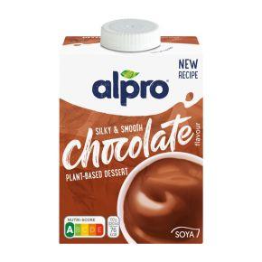 Alpro Vla soya chocolade product photo