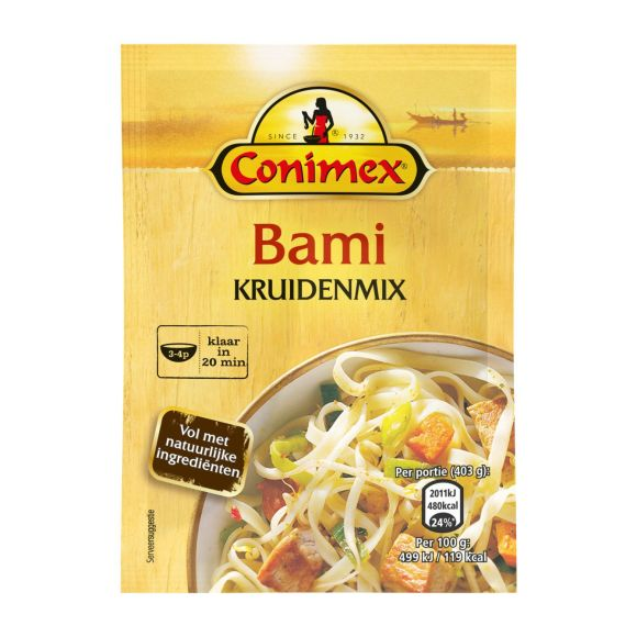 Conimex Kruidenmix voor bami product photo