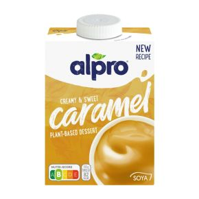 Alpro Vla soya caramel product photo