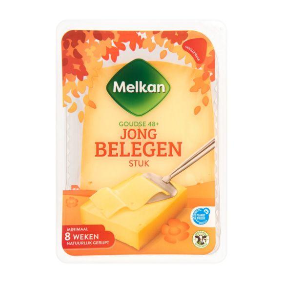 Melkan Jong belegen 48+ kaas stuk product photo