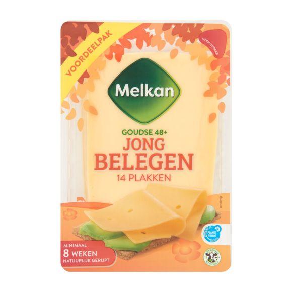 Melkan Jong belegen 48+ kaas plakken product photo