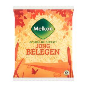 Melkan Jong belegen 48+ kaas geraspt product photo
