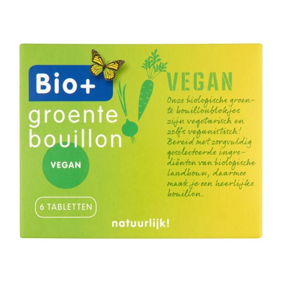 Bio+ Groente bouillonblokjes product photo