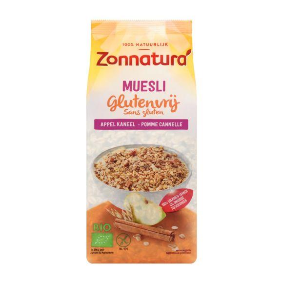 Zonnatura Muesli appel & kaneel glutenvrij biologisch product photo