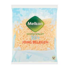 Melkan Jong belegen 30+ kaas geraspt product photo