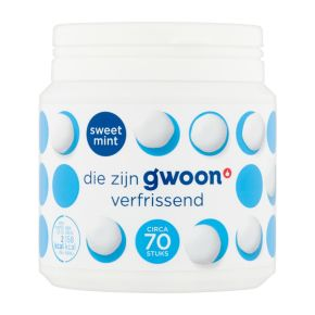 g'woon Kauwgom sweetmint product photo