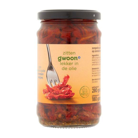 g'woon Zongedroogde tomatenreepjes product photo
