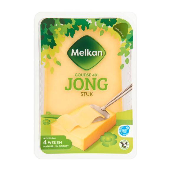 Melkan Jonge 48+ kaas stuk product photo