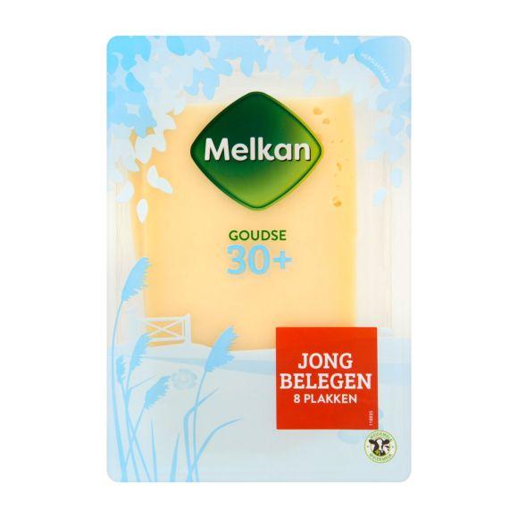 Melkan Jong belegen 30+ kaas plakken product photo
