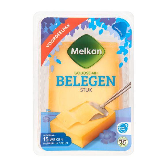 Melkan Belegen 48+ kaas stuk product photo