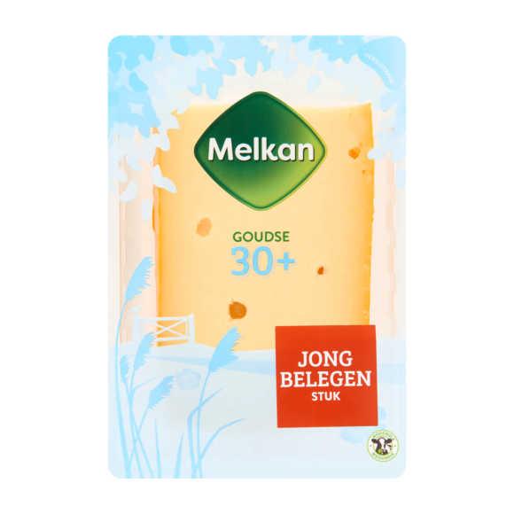 Melkan Jong belegen 30+ kaas stuk product photo