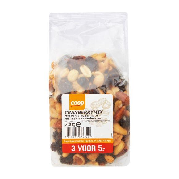 Pinda mix cranberry product photo
