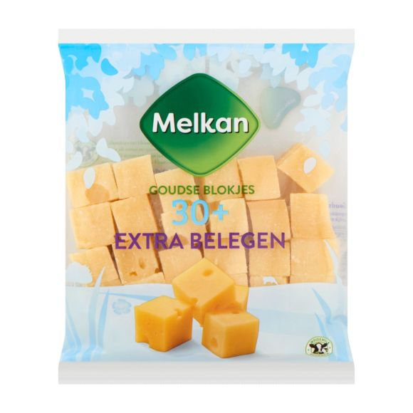 Melkan Blokjes extra belegen product photo
