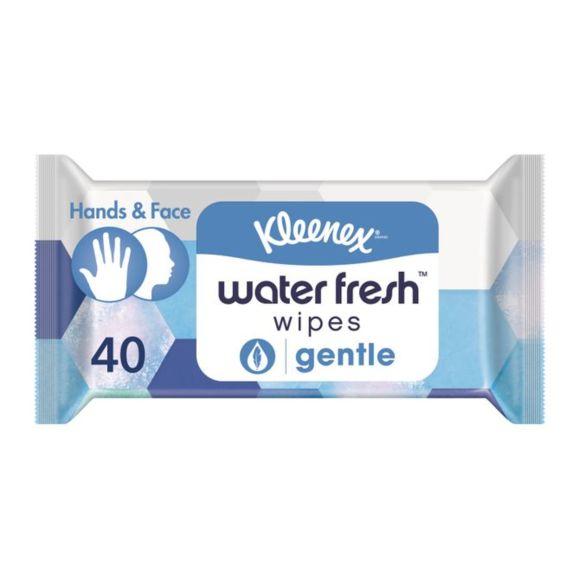 Kleenex Water fresh tissues gentle product photo