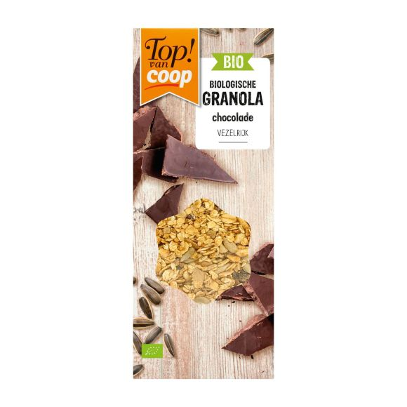 Top! van Coop Bio granola chocolade product photo
