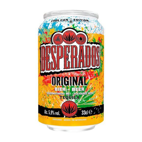 Desperados original bier koud blik product photo