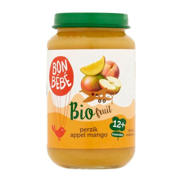 Bonbébé Fruithapje perzik appel mango product photo