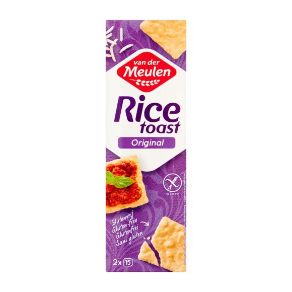 Van Der Meulen Ricetoast naturel product photo