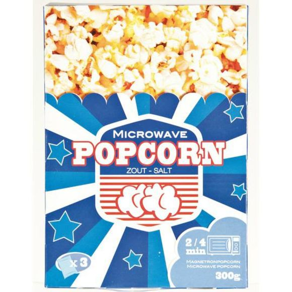 American Magnetron popcorn zout product photo