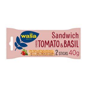 Wasa Sandwich cheese tomato & basil product photo