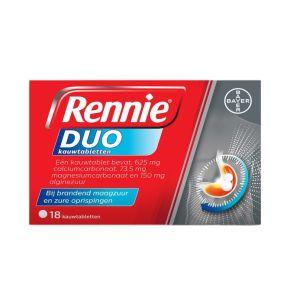 Rennie Duo kauwtabletten product photo