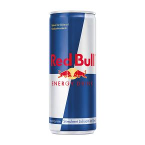 Red Bull Energy drink blik product photo