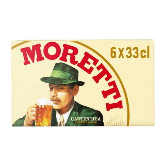 Birra Moretti Lager pils product photo