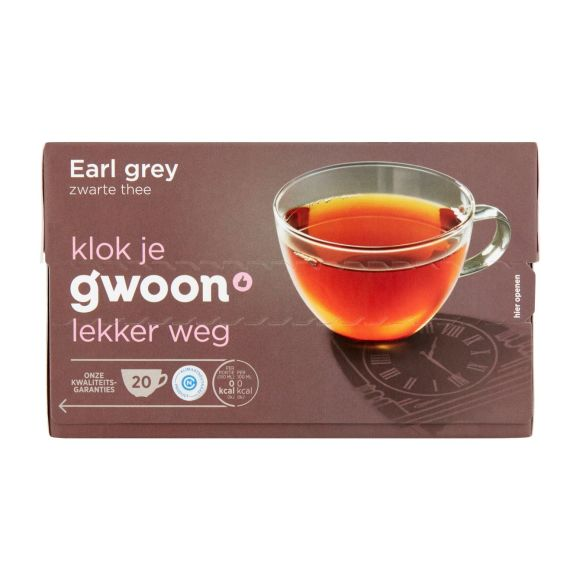 g'woon Earl grey thee product photo