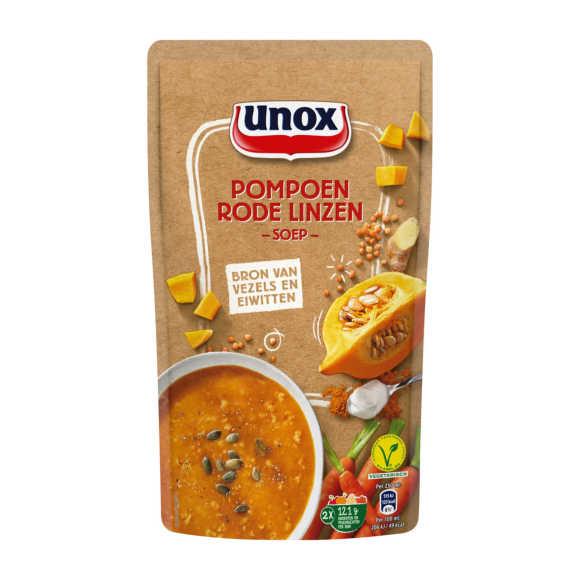 Unox Soep in zak pompoen linzen product photo