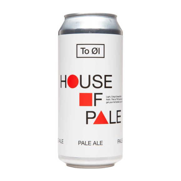 To Øl City House of pale ale bier fles product photo