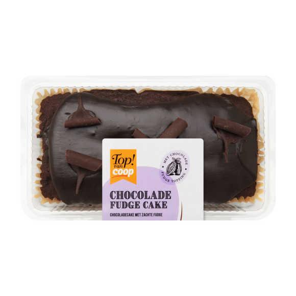 Fudge cake chocolade product photo