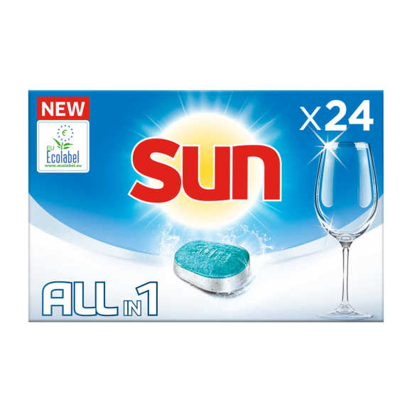 Sun All-in 1 Vaatwastabletten normaal product photo