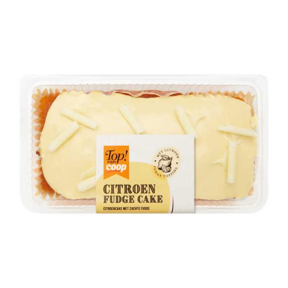 Top! van Coop Fudge cake citroen product photo