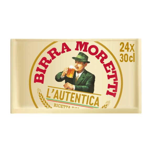 Birra Moretti Premium lager bier product photo