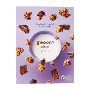 g'woon Krokant muesli choco product photo