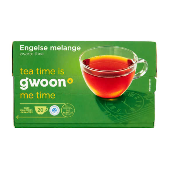 g'woon Thee Engelse melange product photo
