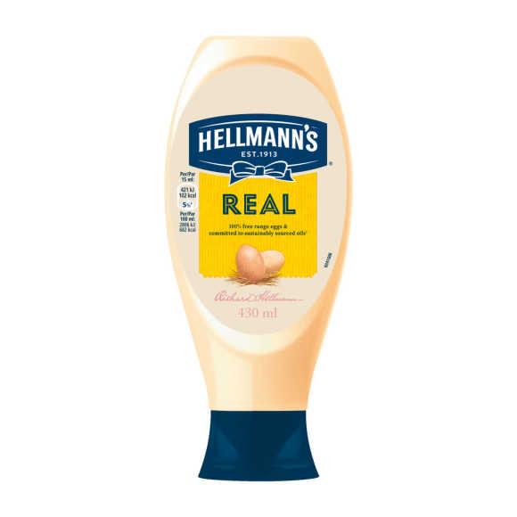 Hellman's Mayonaise real product photo