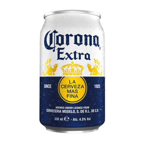 Corona blikken bier 6 x 33 cl product photo
