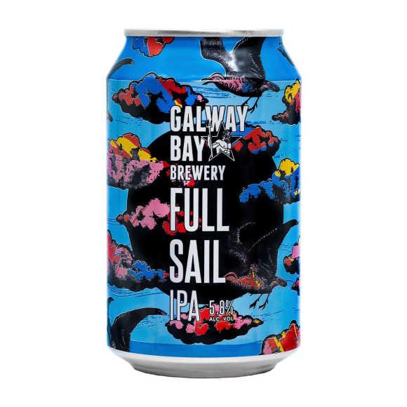 Galway Bay Full sail IPA bier blik product photo