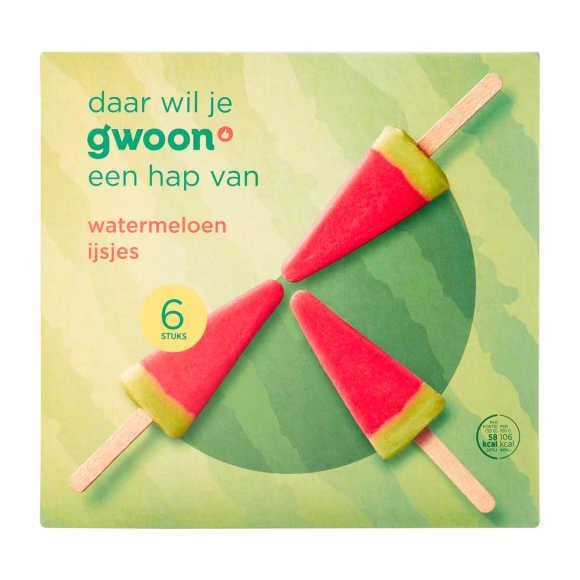 g'woon Watermeloen ijsjes product photo