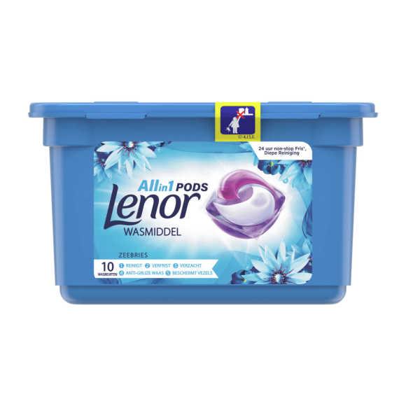 Lenor Wasmiddel 3in1 pods zeebries product photo