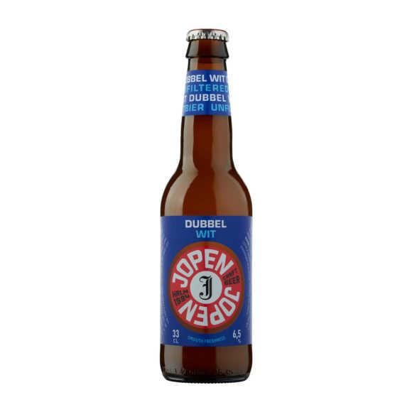 Jopen Dubbel wit bier fles product photo