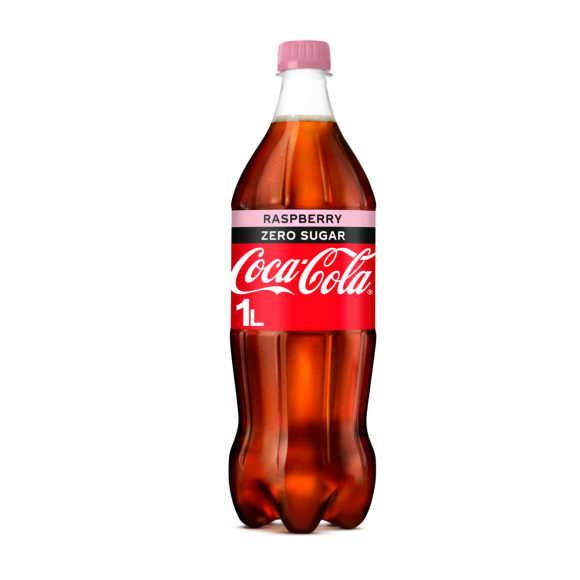 Coca-Cola Zero raspberry product photo