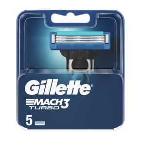 Gillette Scheermesjes mach3 turbo product photo