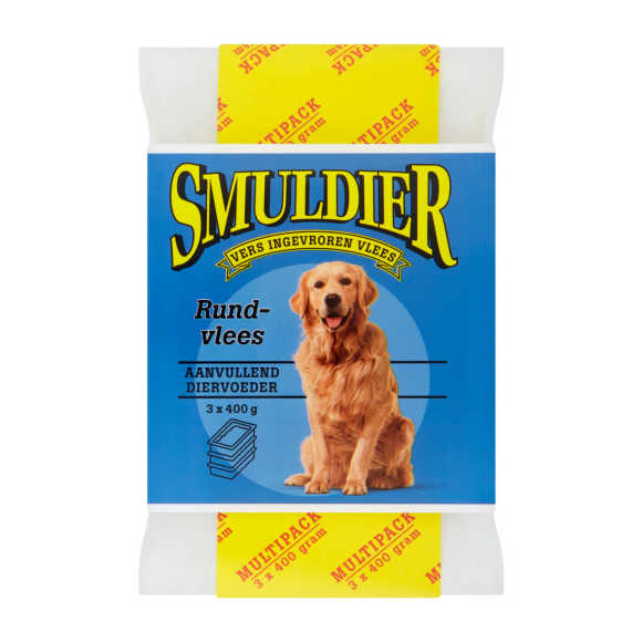 Smuldier Diervoeding hondenvoer rundvlees product photo