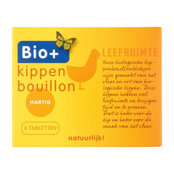 Bio+ Bouillon blokje kip biologisch product photo