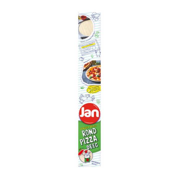 Jan Pizzadeeg vers rond product photo